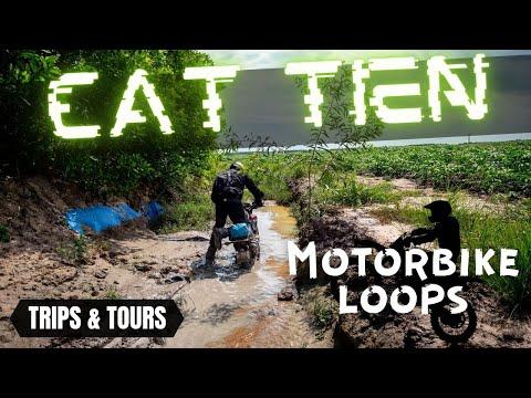 Cat Tien Nation park by Motorbike