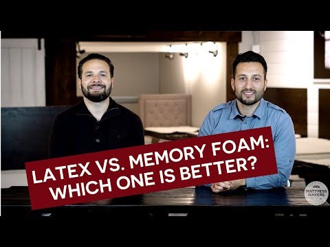 Latex Vs Memory Foam: Which One Is Better?