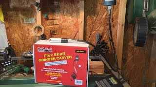 Chicago Flex Shaft Carver Grinder From Harbor Freight Reviewed By Mr Tims
