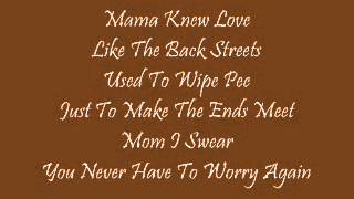 Mama Knew Love|Anthony Hamilton|Lyrics