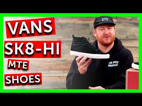 2018 Vans Sk8-Hi MTE Shoes - Review - TheHouse.com
