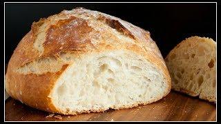 No Knead Crusty Bread~Dutch Oven Style!