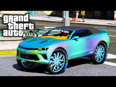 Buying CJSOCOOL's NEW Camaro On 32s (Aquafina/Bumblebee)! GTA 5 Real Life Mod #90 (Real Hood Life 3)