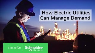 How Electric Utilities Can Manage Demand: Peak Shaving in Action with EcoStruxure™ ADMS