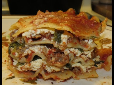 Recipe: How to make Cheezy Spinach Vegan Lasagna