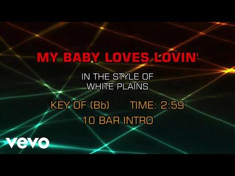 White Plains - My Baby Loves Lovin' (Karaoke)