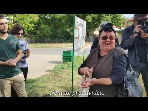 Aktivisti u šetnji kroz niška sela - na 15 km od Niša nema ni prodavnice