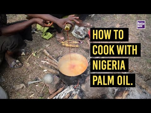 How to Cook with Nigerian Palm Oil