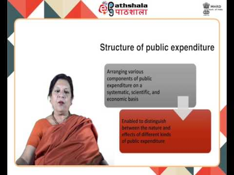 theories of public expenditure