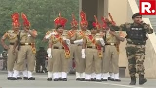 Watch: The Beating Retreat Ceremony At The Attari Border Ahead Of Independence Day