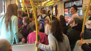 THE LONELY GOATHERD on YARRA TRAMS - 24 JUNE MELBOURNE 2016