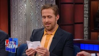 Ryan Gosling Asks Stephen A Lord Of The Rings Question From His Mom