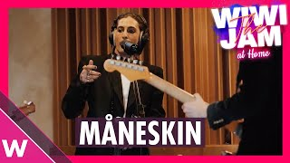"Måneskin (Italy Eurovision 2021) ""I Wanna Be Your Slave"" & ""Zitti E Buoni""  | Wiwi Jam at Home"