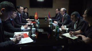 ՀՀ ԱԳ նախարար Արա Այվազյանը հանդիպում ունեցավ Ղրղզստանի ԱԳ նախարար Ռուսլան Կազակբաևի հետ