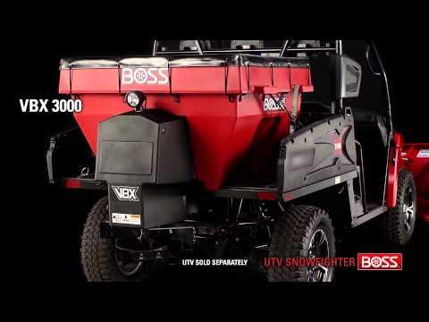 UTV VBX 300 Features | BOSS Snowplow