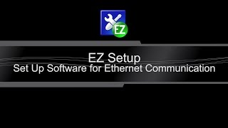 ezsetup ethernet connection