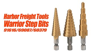 Harbor Freight Step Drill Bit