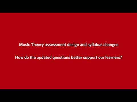 ABRSM's Music Theory exams at Grades 1 to 5 - How do the ...