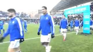preview picture of video 'تشكيلة اللاعبين  خيتافي vs  ريال مدريد 2015/01/18 HD'