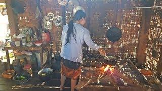ตะลอนลาวก่อนไปเวียดนาม EP12:แกงเห็ด ต้มหอยนา สู่กันกินกับไทบ้านนาคล้าย เมืองมหาไซ นี่ล่ะน้ำใจคนลาว
