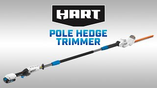 HART 20V Pole Hedge Trimmer