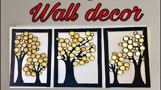 Homemade Wall Decoration | Craft Work At Home | Fashion Pixies | Craft Work