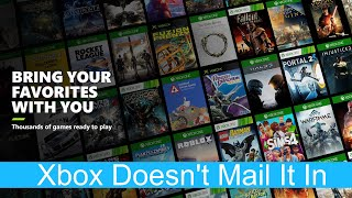 Xbox Didn't Mail it In