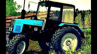 Трактор Беларус 920 или СЕЛЬСКИЙ ТРАКТОРИСТ 4. Как использовать трактор. How to use the tractor.