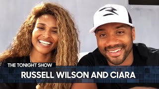 One of Ciara and Russell Wilson's First Dates Was at The White House with the Obamas | Tonight Show
