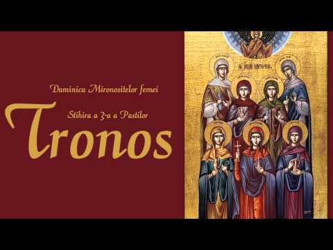 Tronos – Stihiră Înviere; Stavropoleos – Terirem