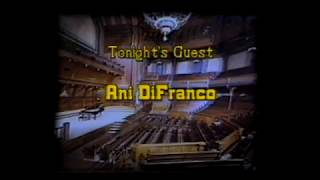 Ani DiFranco on The Acoustic Cafe May 93