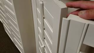 How Shutter Panels Close and Overlap