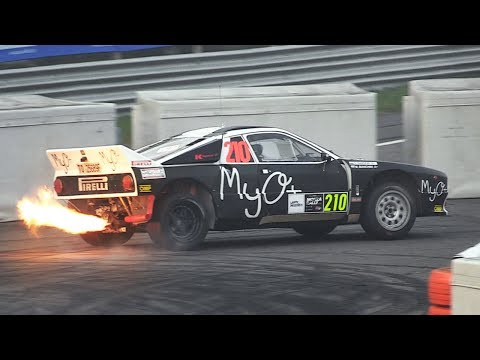 Monza Rally Show 2018: Friday's Shakedown & SS1/2 - Lancia Stratos, i20 WRC, M3 E30 & More!