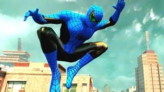 Игра для детей про Супергероя Человека Паука который спасает людей в большом городе