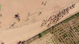 1600 meter Race Drone shoot