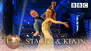 Stacey Dooley & Kevin Clifton dance the Quickstep to Dancing by Kylie Minogue - BBC Strictly 2018