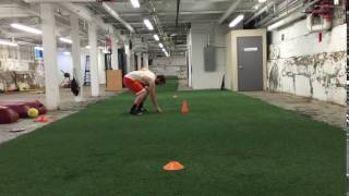 Pro Agility Drill- Change Direction
