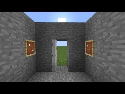 Tutorial] Item Frame Combination Door Lock Minecraft Project