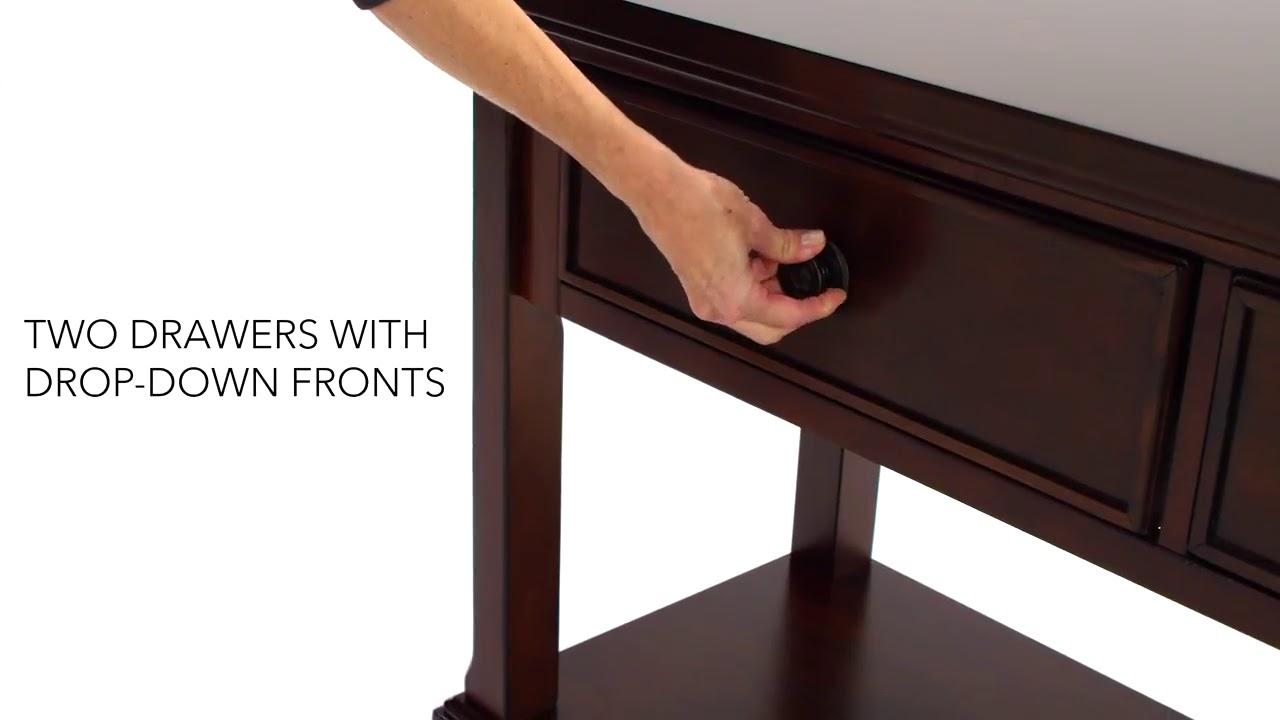 Enjoyable Porter Sofa Table Media Console Cjindustries Chair Design For Home Cjindustriesco