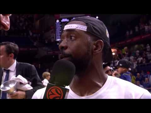 Post-game interview: KC Rivers, Real Madrid