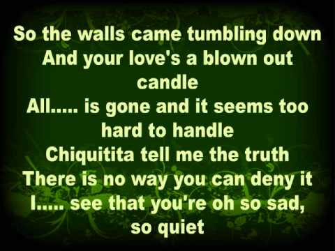 Chiquitita - Abba in English