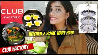 CLUB FACTORY KITCHENWARE & HOME 🏠 THINGS HAUL|TheLifeSheLoved| Sana K