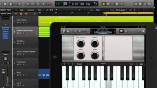 Logic Remote App in Logic Pro X