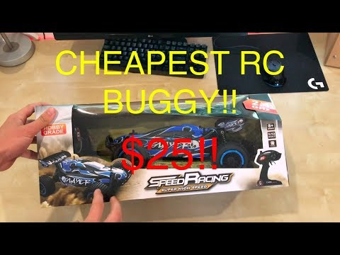 RC Buggy CHEAPEST 1:12 SCALE $25 REVIEW