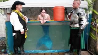 Mermaid Luna s Ice Bucket Challenge...