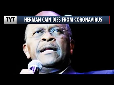 Herman Cain Dies From COVID-19 He Likely Contracted At Trump's Tulsa Rally