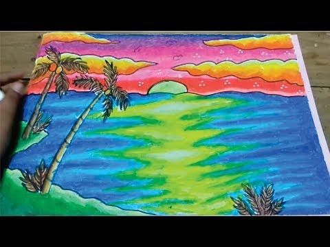 64 Gambar Pemandangan Warna Gradasi Kekinian