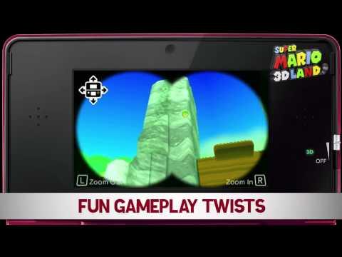 Super Mario 3D Land dostal nový trailer