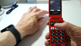 Review - The Emporia one phone for seniors unboxing and review #emporia #tech #emporiaone