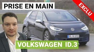 Volkswagen ID3 : on a pris le volant (et on en redemande) !